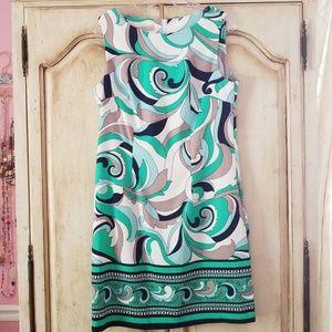 Green&Blue dress
